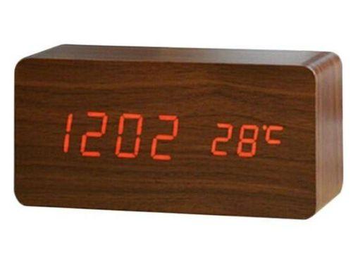 Relógio Despertador Mesa Digital